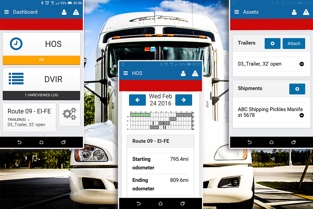 real time tracking ELD